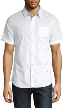 Buffalo David Bitton Savanisy Cotton Button-Down Shirt