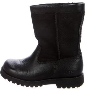 UGG Girls' Riverton Leather Boots