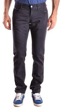 Richmond Men's Blue Cotton Pants.