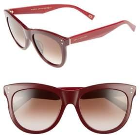 Marc Jacobs Women's 54Mm Sunglasses - Burgundy