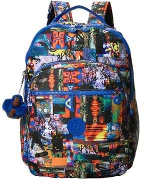 Kipling Seoul Large Print Backpack Bags