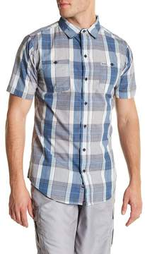 Burnside Plaid Short Sleeve Regular Fit Shirt