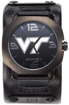 Rockwell Kohl's Virginia Tech Hokies Assassin Leather Watch - Men