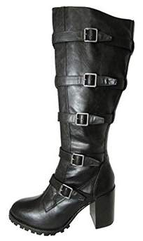 Report Signature Womens Anabelle Gladiator Style Knee High Boot.
