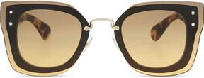 Miu Miu MU04RS Reveal square-frame sunglasses