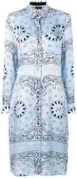 Amiri Western print shirt dress