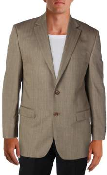 Lauren Ralph Lauren Mens Double Vent Notch Lapel Two-Button Suit Jacket