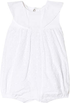 Mayoral Off White Broiderie Anglais Romper