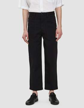 Lemaire Summer Chino in Black