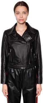 Drome Nappa Leather Biker Jacket