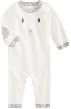 First Impressions Bunny Cotton Sweater Coverall, Baby Girls & Baby Boys (0-24 months), Created for Macy's