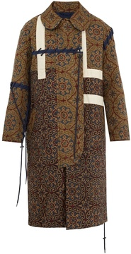 Craig Green Tile-print quilted cotton coat