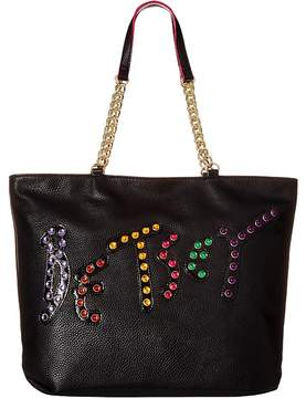 Betsey Johnson Logo Tote Tote Handbags