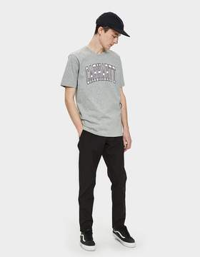 Carhartt Wip S/S Division T-Shirt in Grey Heather