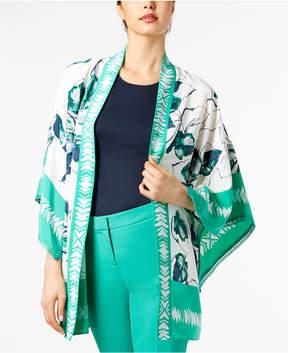 Alfani Printed Short Kimono Jacket, Created for Macy's