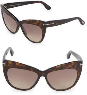 Tom Ford Women's 56MM Cat Eye Sunglasses