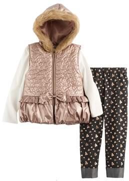 Little Lass Girls 4-6x Puffer Vest