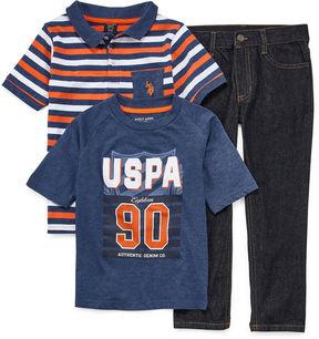 U.S. Polo Assn. Us Polo 3 Pc Pant Set