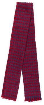 Barneys New York Barney's New York Knit Checked Scarf