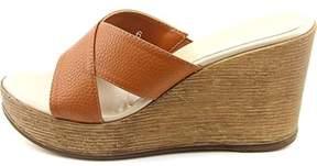 Athena Alexander Womens Reena Open Toe Casual Platform Sandals.
