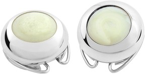 Forzieri Enamel and Silver Plated Button Covers
