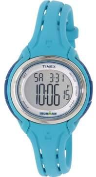 Timex Women's Ironman TW5K90600 Blue Rubber Quartz Sport Watch