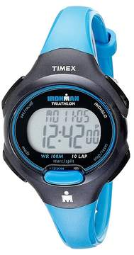 Timex Sport Ironman Blue and Black Mid Size 10 Lap Watch Watches