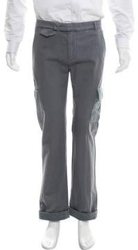 Band Of Outsiders Flat Front Cropped Cargo Pants