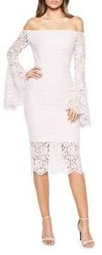 Bardot Solange Lace Sheath Dress