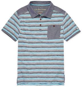 U.S. Polo Assn. USPA Short Sleeve Polo - Big Kid Boys