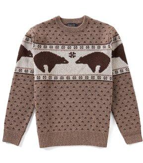 Pendleton Shetland Wool Bear Sweater