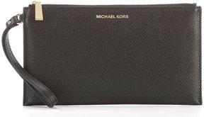 MICHAEL Michael Kors Large Zip Clutch - BLACK - STYLE