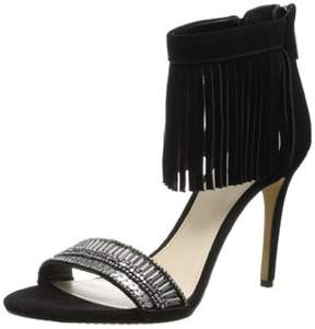 Vince Camuto Women's TRUMEN Dress Sandal BLACK,5.5