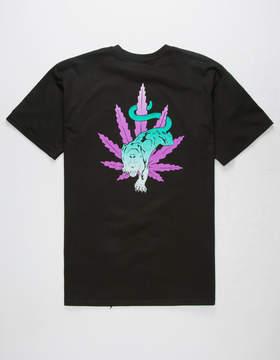 HUF Blacklight Panther Mens T-Shirt