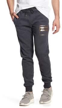 Puma Rebel Gold Logo Pants