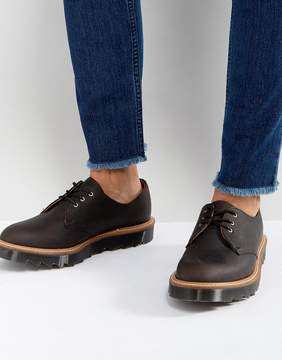 Dr. Martens Made In England 1461 3 Eye Shoes Ripple Toothed Sole Shoes