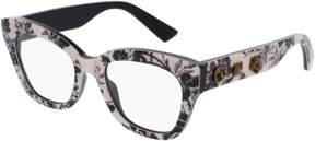 Gucci Eyeglasses GG 0060 O- 004 MULTICOLOR /
