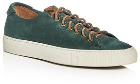 Buttero Tonino Suede Lace Up Sneakers