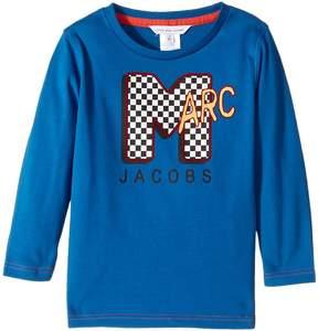 Little Marc Jacobs MTV Style Long Sleeve T-Shirt Boy's T Shirt