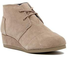 Toms Desert Youth Wedge Bootie (Little Kid & Big Kid)