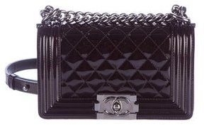 Chanel Patent Small Boy Bag