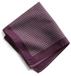 Todd Snyder Italian Cotton Square Print Pocket Square