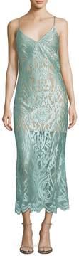 ABS by Allen Schwartz Women's Lace Sheath Dress