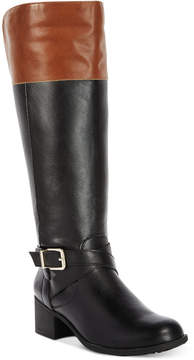 Style&Co. Style & Co Venesa Wide-Calf Riding Boots, Created for Macy's Women's Shoes