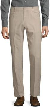 Zanella Men's Textured Wool Pants