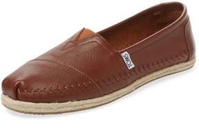 Toms Women's Alpargata Leather Slip-On