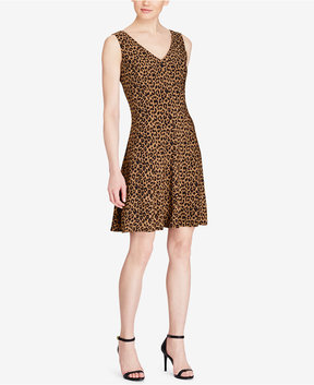 American Living Printed Fit & Flare Dress