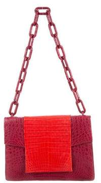 Nancy Gonzalez Crocodile Medium Chain Flap Bag