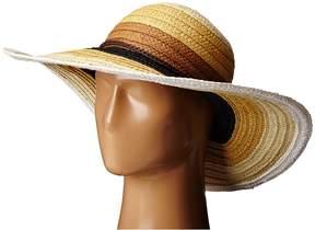 San Diego Hat Company PBL3071 Striped Sun Brim Hat Caps