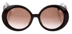 Bottega Veneta Intrecciato Oversize Sunglasses